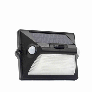 Bright solar light 12 LED solar power outdoor lamp with motion sensor with LED on both sides