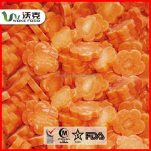 IQF frozen carrot,frozen diced carrot for sale
