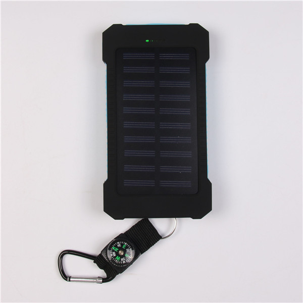 Mobile Phones Battery Power Bank 7000Mah Waterproof Solar Charger For phone, handy solar power bank