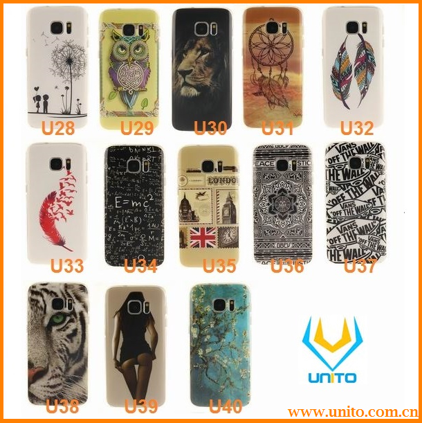 Phone Case for Samsung Galaxy S7 Soft TPU Silicon Beautiful Sexy Lady Printed Case Cover for S7