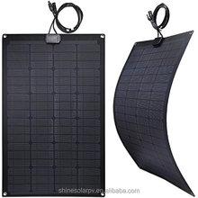 High efficiency portable thin film rolling bending marine rv mini flexible solar panel