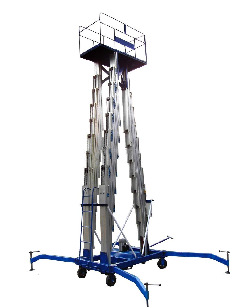 HOT SELL!Hydraulic aerial working platform self-propelled scissor mobile lift