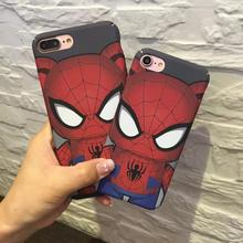 Cell phone cover the avengers TPU Phone case for iphone 6 6s 6 6s plus 7 7 plus TPU mobile phone