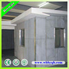 Fire resistant soundproof decorative wall panel for prefab homes