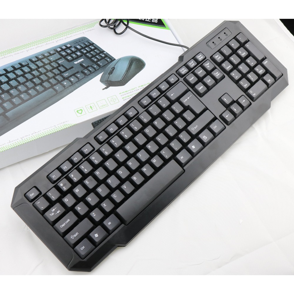 New arrival--Multi-language layout wired keyboard