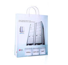 Pictures printing laminated advertisement reusable pp shopping bag