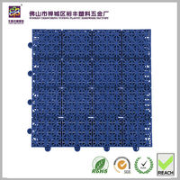 Customized bath room use plastic pp mat pvc tube mat PPGS-202