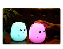 Child Night Desk Light Disco Speaker Colorful Led Table Lamp Touch Music Blue tooth Speakers Colorful Night Light