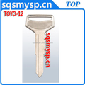 G046 Best quality Classic steel iron car KEY BLANKS toyo-12 Xianpai