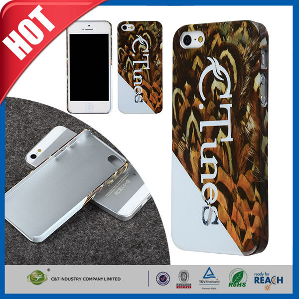 C&T NEW Mobile Phone 3d hard cover for iphone 5s