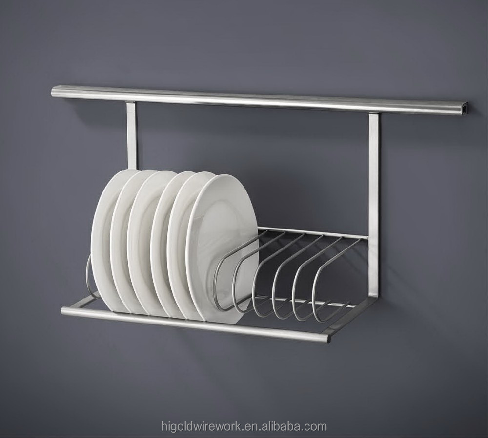Kitchen wall plate holder