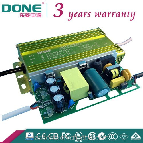 single output 100w 36v dc output waterproof electronic led driver IP67
