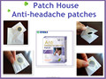 Chinese herbal point headache pain relieving and anti-headache