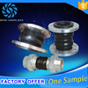 150LB pressure shock absorption flexible rubber bridge expansion joint