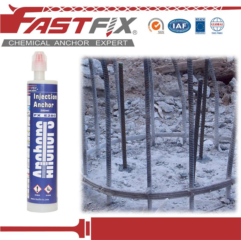 400ml epoxy resin adhesive for anchoring steel bar to concrete white latex glue vent mastic sealant