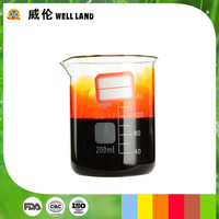 Nature pumpkin color compound food dye as good candy and jam color additive choice