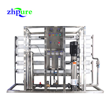 2000LPH water treatment machine system making clean water to drink