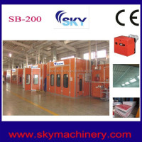 100% original SKY SB-200 outdoor spray booth water curtain