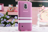 Cellphone Case Back Cover Translucent Matte two in one for Galaxy Note 4 Mobile Phone Shell Back cover