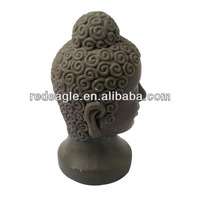 Polyresin buddha wholesale unpainted figurine