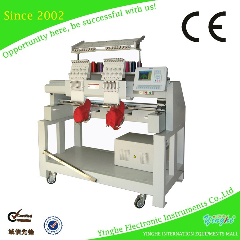 High precision easy operate coiling computerized embroidery machine