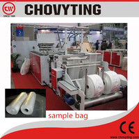 High Efficiency Plastic Rolling Trash Bag Garbage Bag On Roll Making Machines