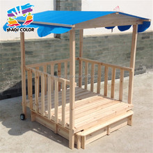 2016 hottest kids wooden outdoor playhouse,cheap wooden outdoor playhouse,new fashion children wooden outdoor playhouse W10E001