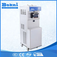 stainless agitator soft ice cream machine with imported Copeland compressor