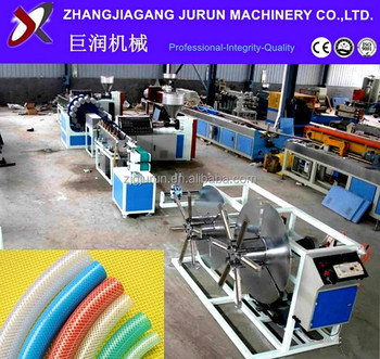 2018 factory price plastic pvc garden water hose production line
