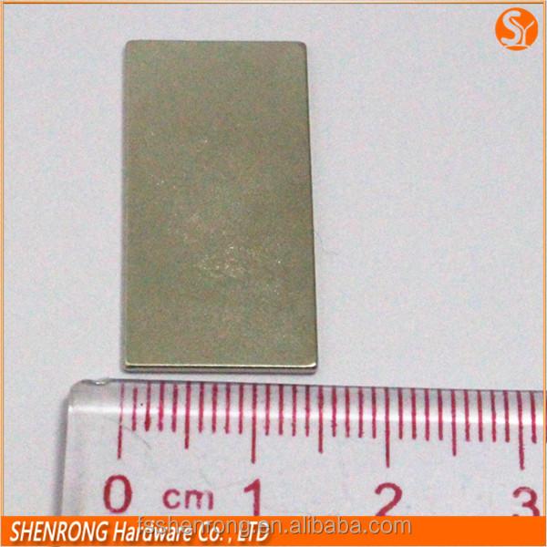 N35 magneti al neodimio permanenti in ultra sottile forma rettangolare-Materiali magnetici-Id ...