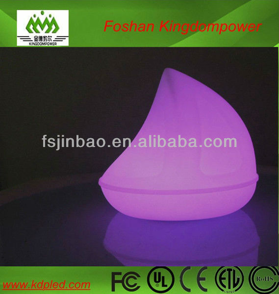 LED sailing boat light / illuminated shine lighting