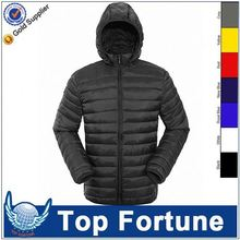 Hot sale economic white puffy men wholesale winter coat