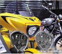 High quality Cross Country Led Headlight Fit for Polaris Victory Motorcycle