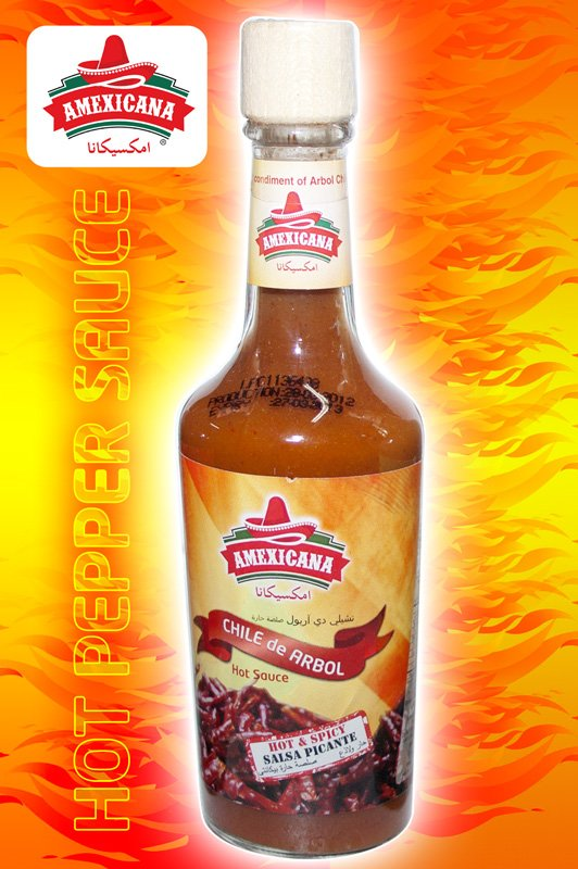 Chile de Arbol Hot Sauce