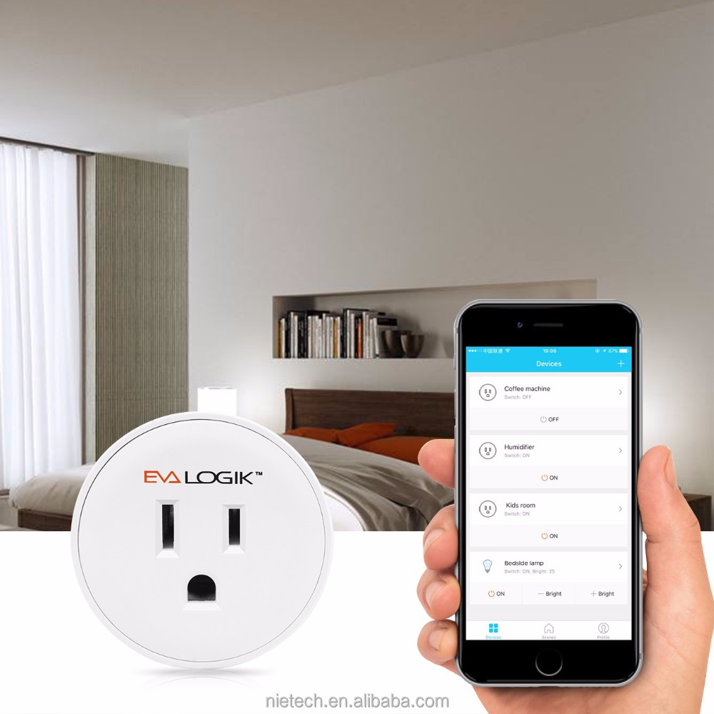 Amazon Echo connected WIFI Smart Plug (NWF001)