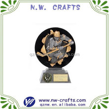Resin hockey player awards figurines gifts