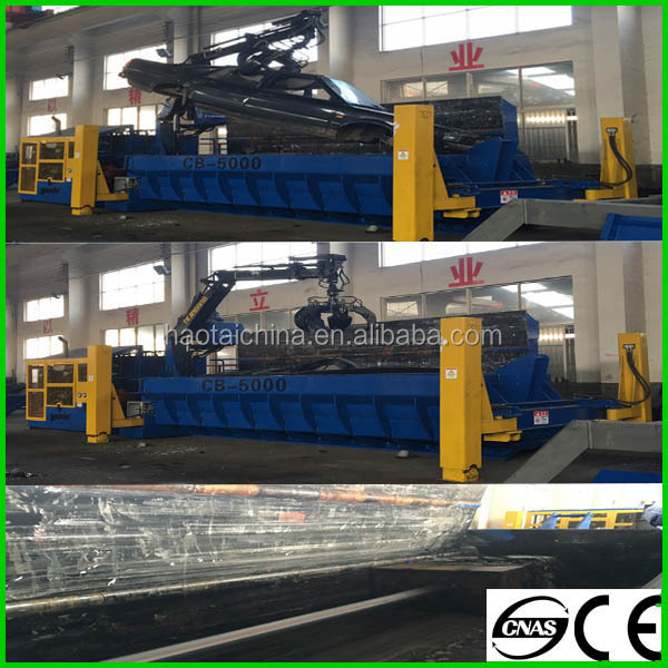 Hot sale hydraculic scrap metal baler for car