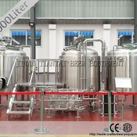 1000L Craft Microbrewery Beer Machine With