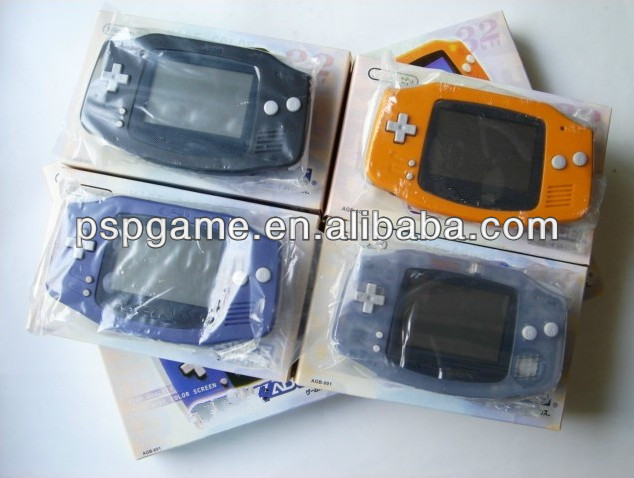 Handheld games console for Gameboy advance system games 32 bits