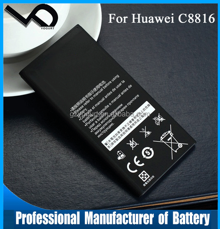 For Huawei C8816 Y635 G521 G615 cell phone battery HB474284RBC 2000mAh