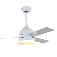 China factory made AC/DC 52 inch white ceiling fan with lights