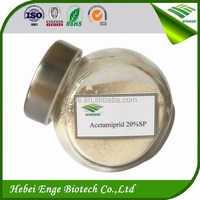 Agrochemical Acetamiprid 20% SP in insecticide