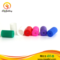 Ciggallery new e cig drip tips various color silicone drip tip 510 silicone drip tip cover