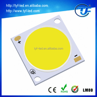 High CRI high power 7W 10W 12W 15W 20W Epistar Bridgelux Flip Chip COB LED
