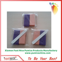 long strip foot nail file for spa