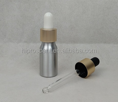 New arrival! Aluminum dropper bottle for essential oil, fragrance & scents, e-liquid and e-juice.