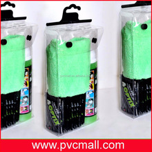 plastic PVC/EVA hook bag for clothes and underwear packing