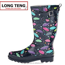 Spring Autumn Women New Fashion Rain Boots High Knee Rubber boots