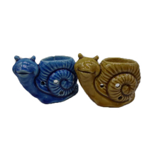 snail ceramic animal shape candle holder