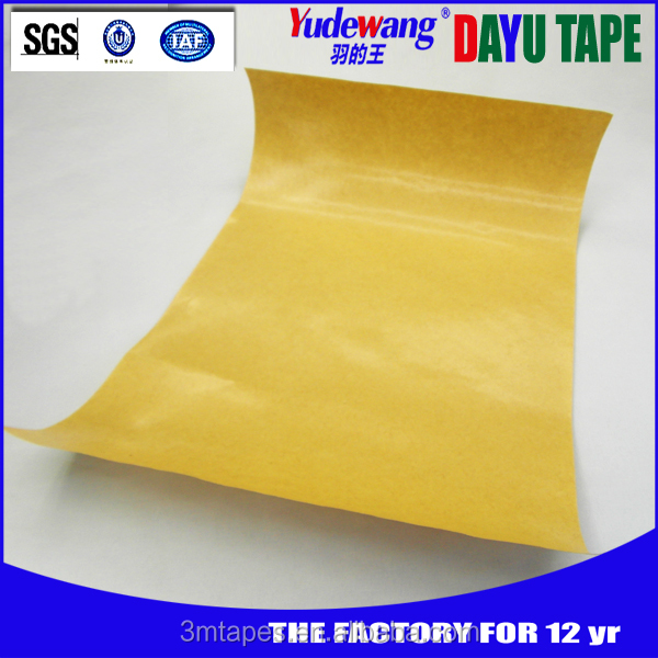Strong adhesive force No carrier double sided transfer tape